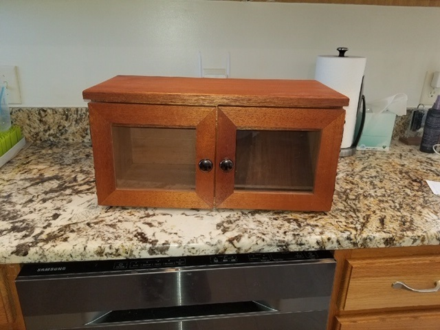 Cigar Humidor - Made from Spanish Cedar with 2 glass doors makes for a large storage compartment for your cigars