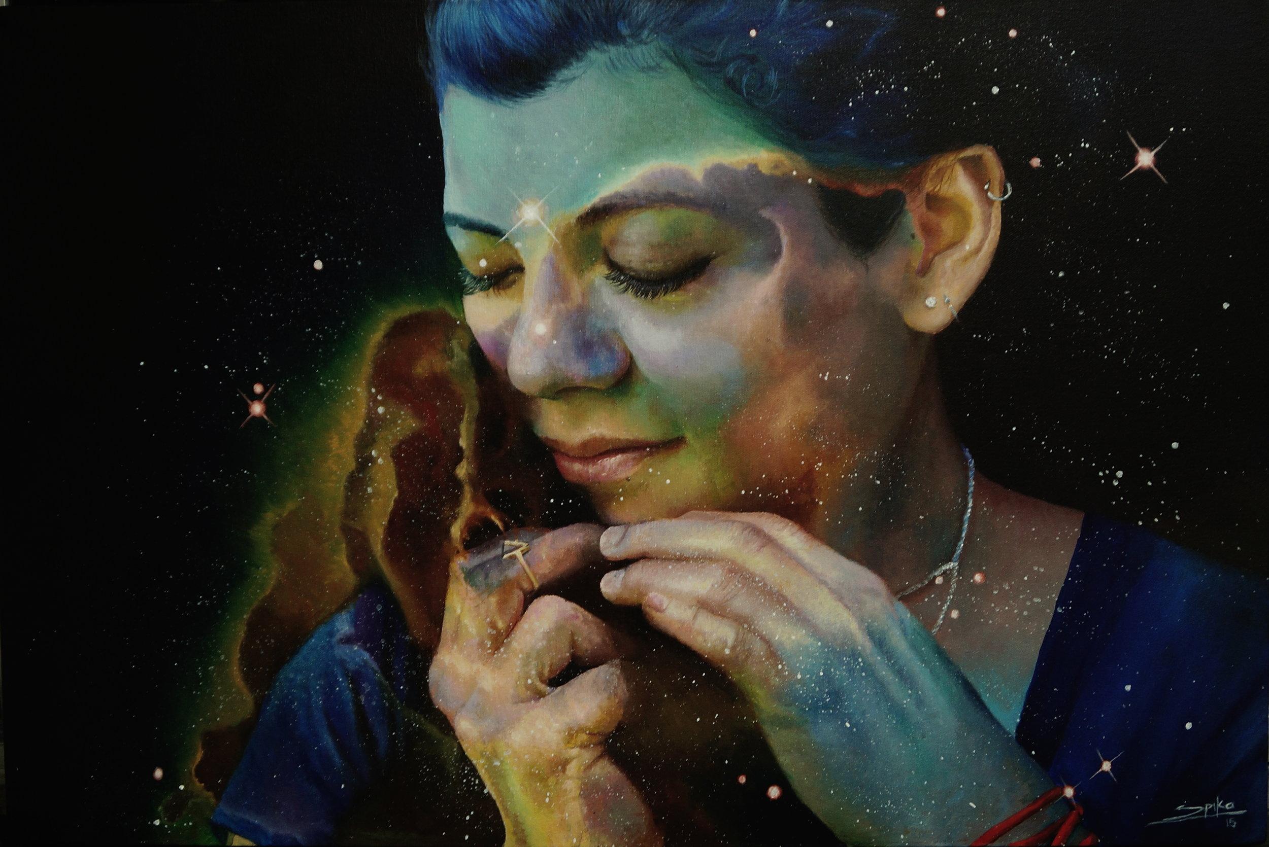 Gaby Acrylic:canvas 60x90 2015.JPG