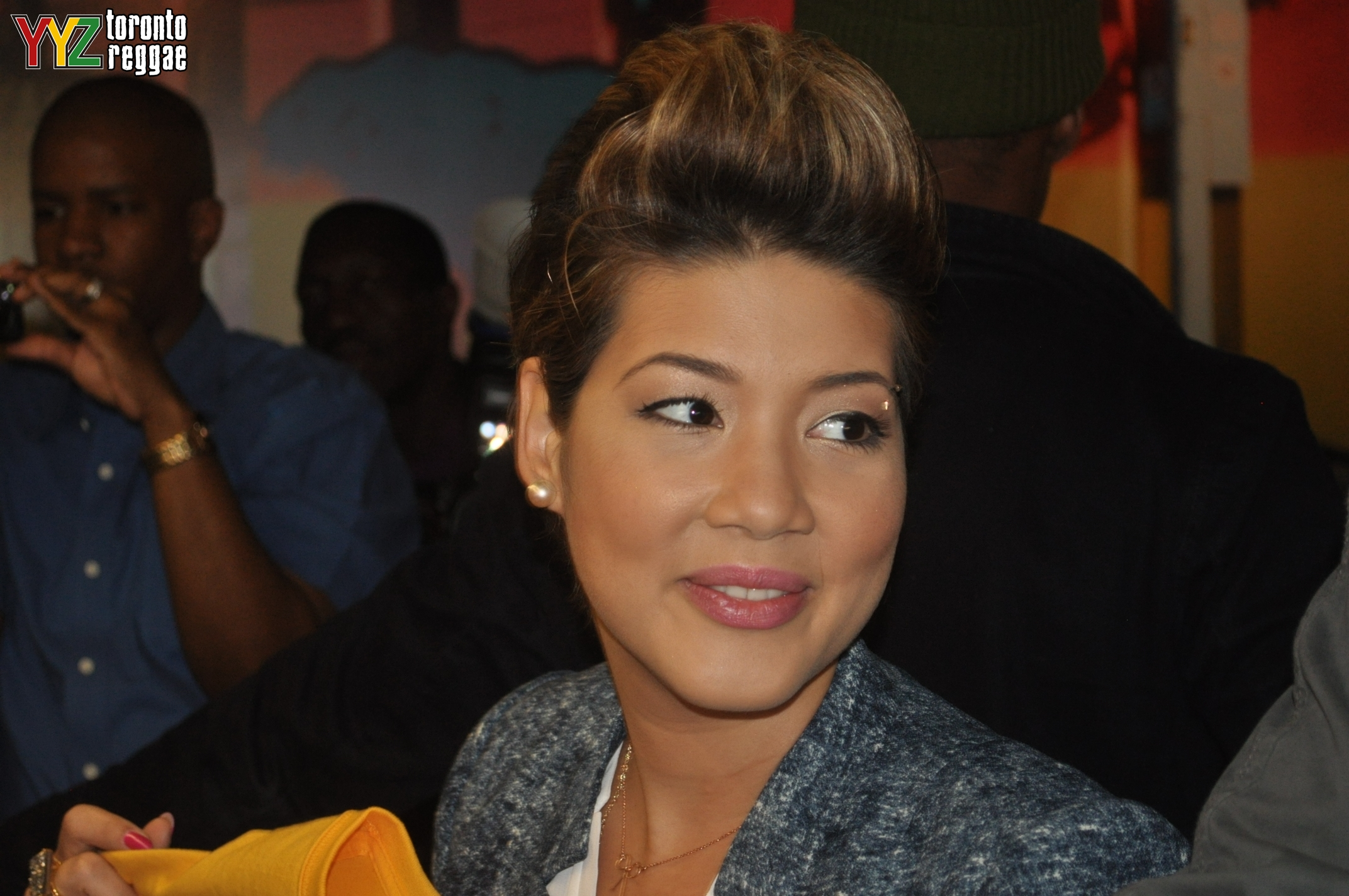 Tessanne  Tessanne at The Real Jerk Fan Appreciation