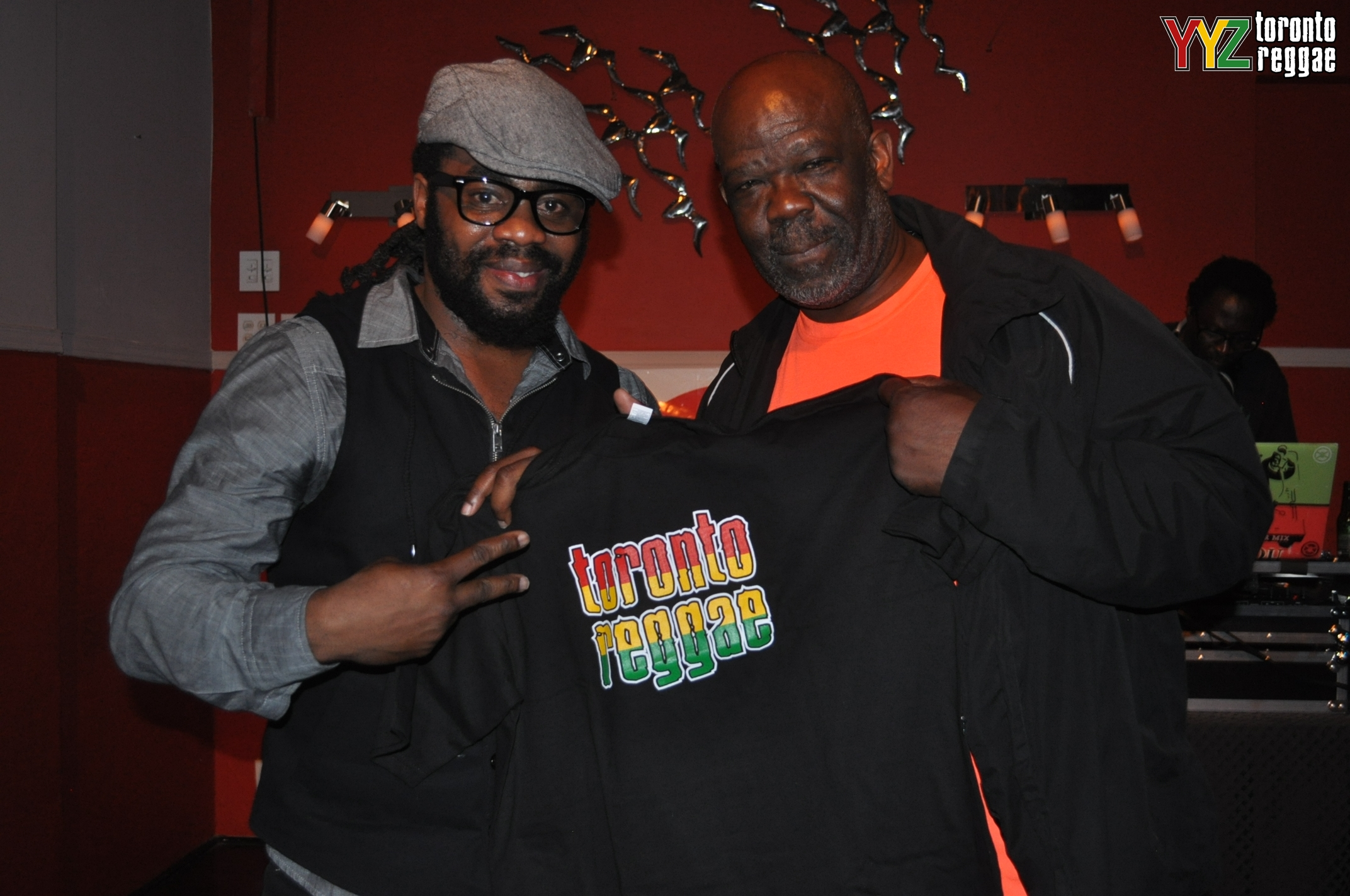 Exco Levi + Luther Brown  Exco Levi and Luther Brown repping Toronto Reggae! Sun, May 18, 2014