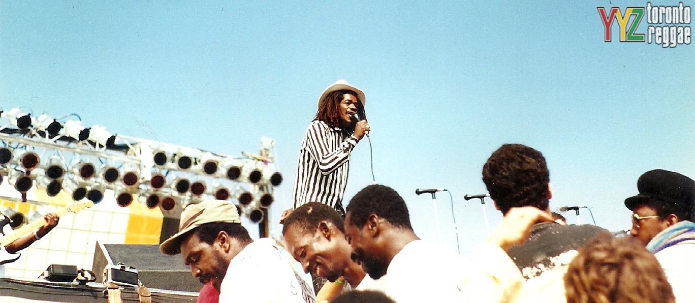 Cocoa Tea Reggae Sunsplash 1988 Montego Bay  Pic by Toronto Reggae