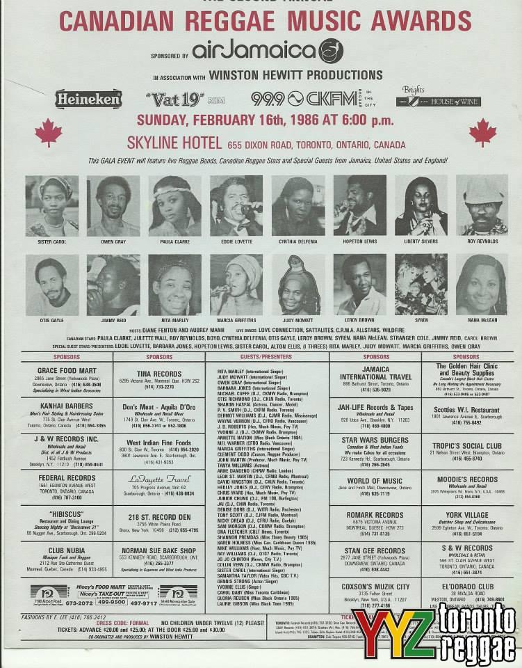 Canadian Reggae Music Awards