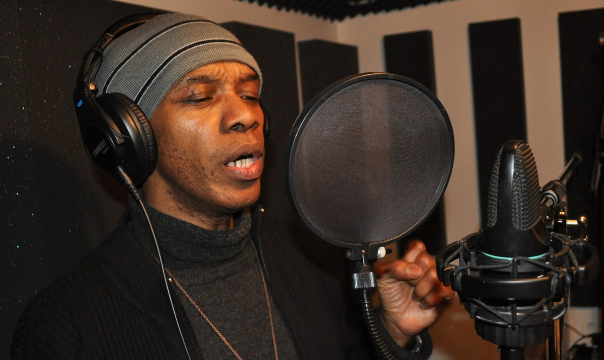 CAnadian Reggae award winner Wally Rich recording at Edit Productions in Toronto 2011!