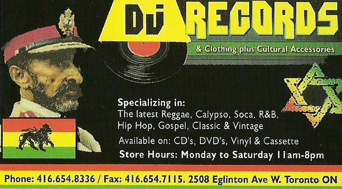 DJ Records 2508 Eglinton Ave. W