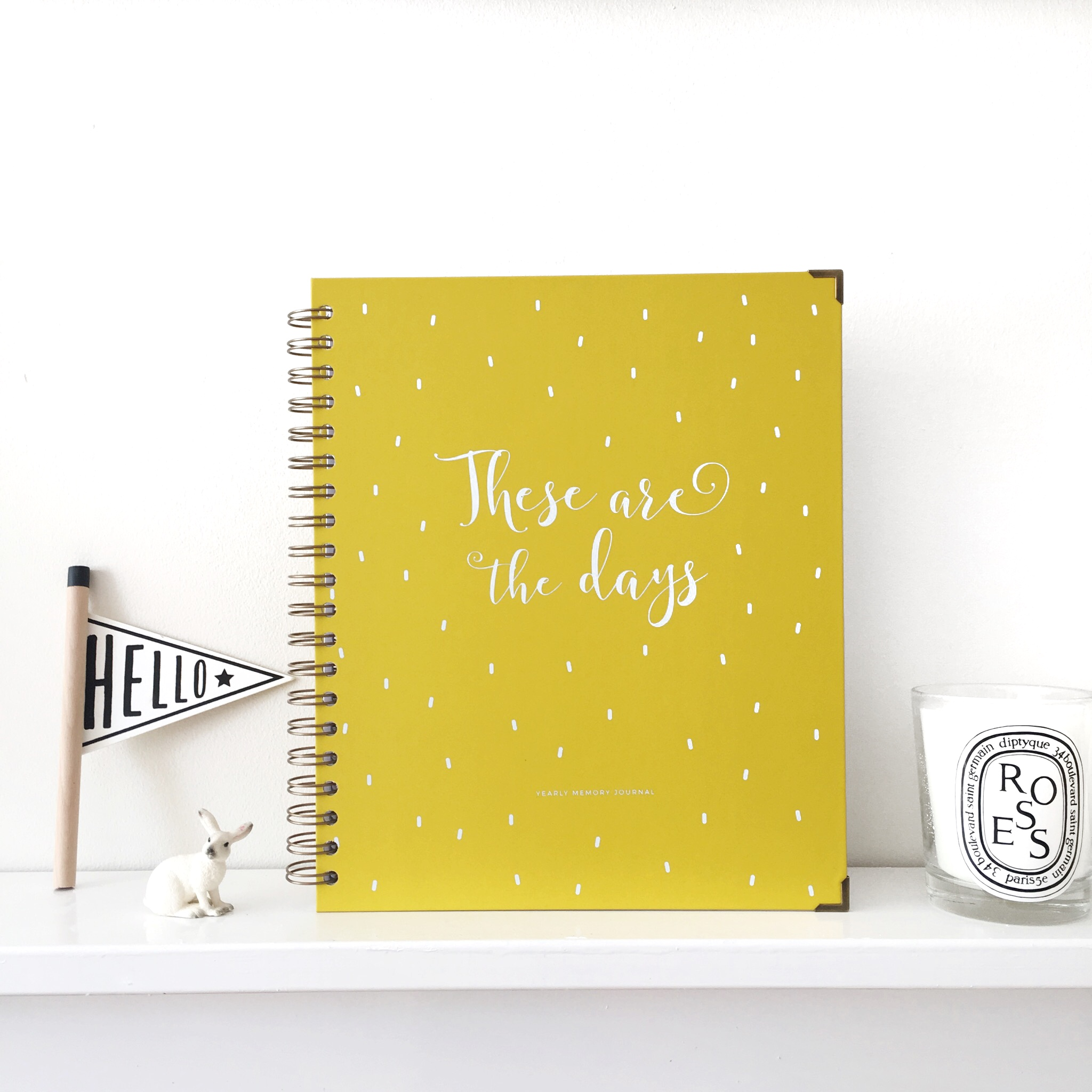 Yearly Memory Journal   : £30  A beautiful 52 week journal to document a full year of baby's life. This will become a treasured keepsake.   - Mama Journals