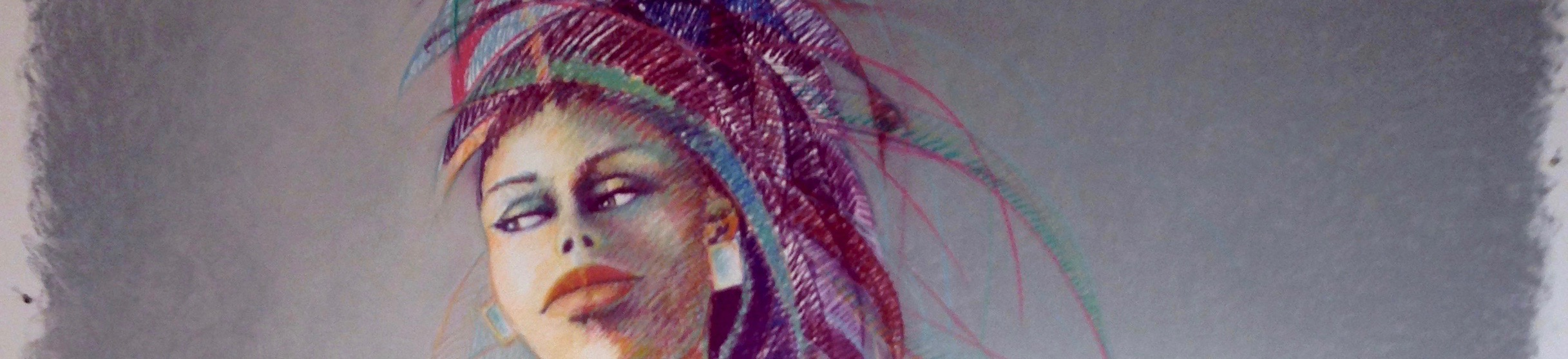 """Alma Pausing"" drawing detail, lorraine garcía-nakata, 2015"