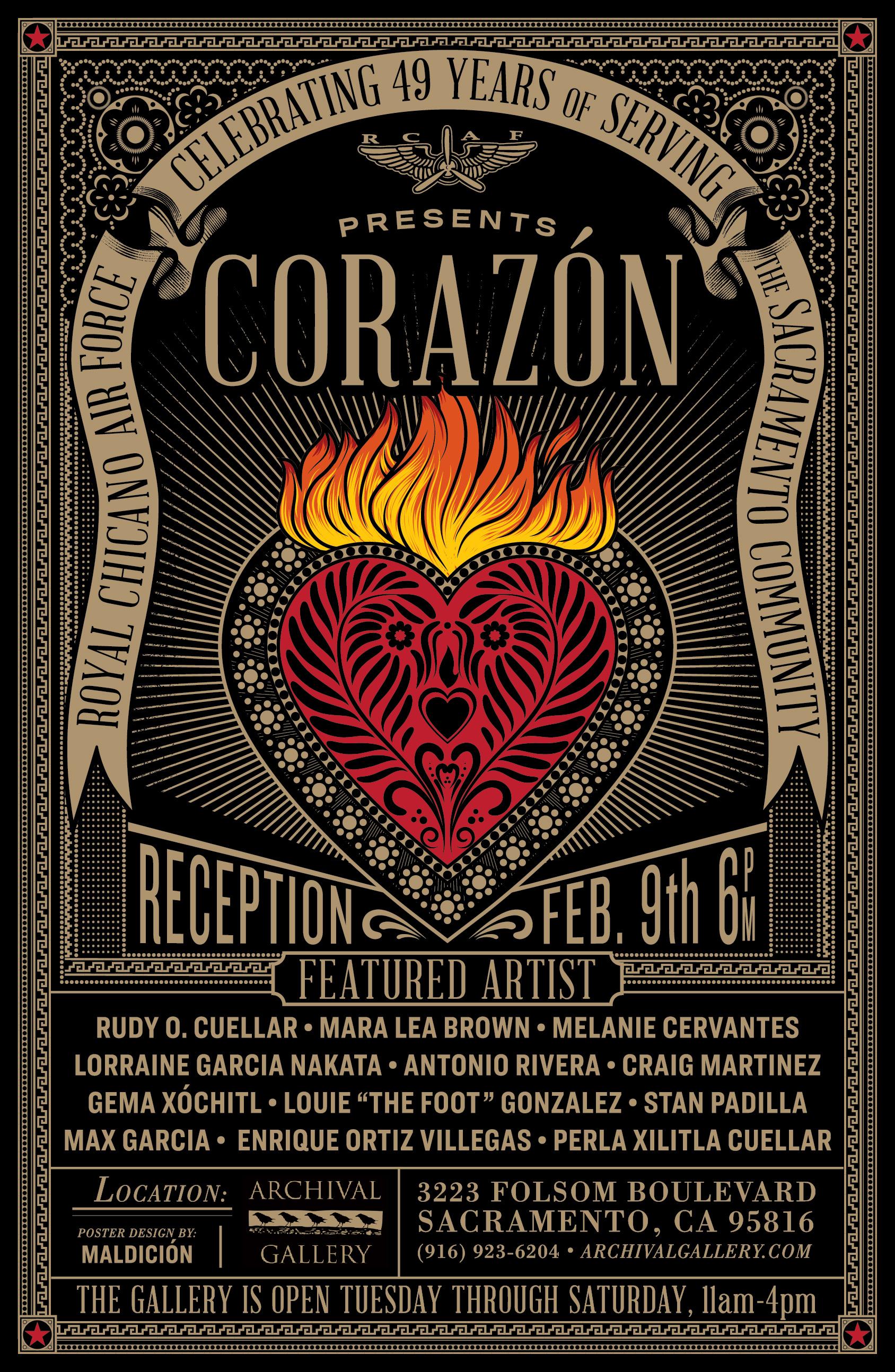 Corazon : RCAF Exhibition Flyer 2019