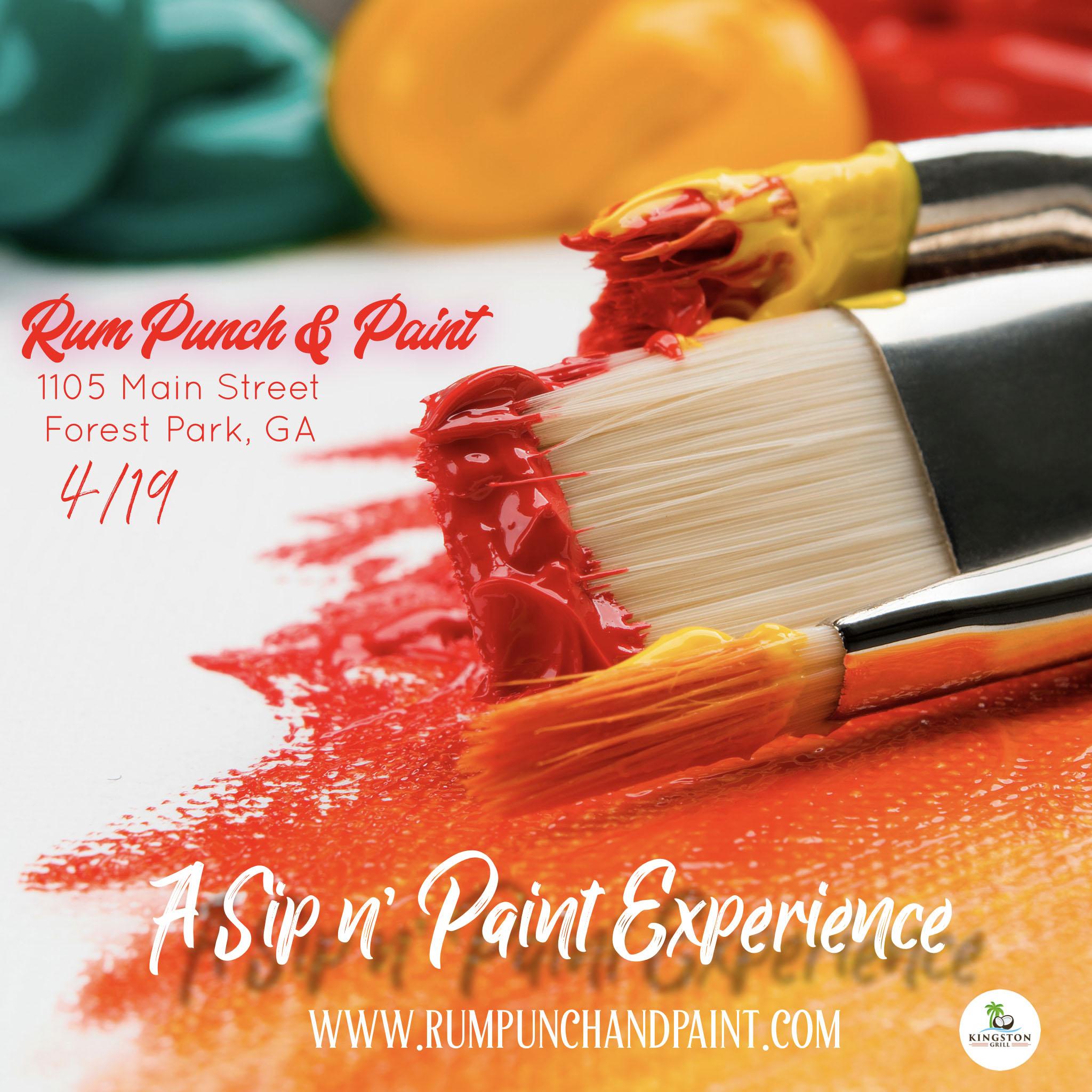 Rum Punch & Paint