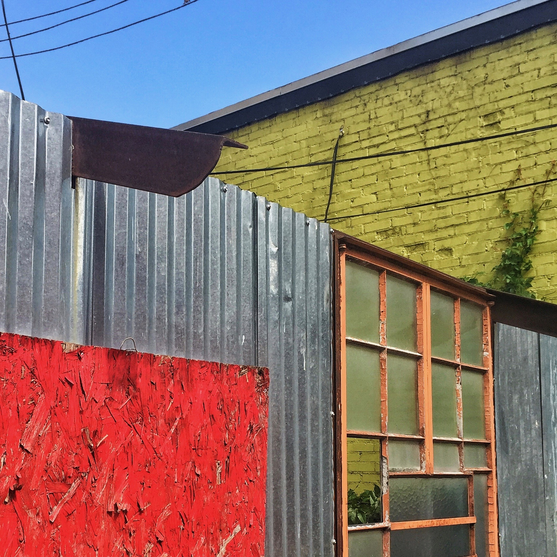 Contrasting Colors, Alleyway - Tulsa, OK
