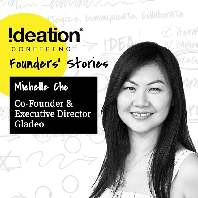 """🎤 2019 SPEAKER 🎤⠀ ⠀ Michelle Cho is the Co-Founder/Executive Director of @gladeo_org, a digital media non-profit that fosters career exploration for students from diverse backgrounds. After years of volunteering, Michelle noticed a huge gap between school and career, especially for students from low income neighborhoods. Determined to bridge the gap, she co-founded Gladeo in 2015. Gladeo harnesses the power of storytelling and technology to inspire, educate and empower underserved students to find and pursue their dream career, particular. Gladeo shares inspiring career stories of diverse individuals to breakdown stereotypes, to open eyes to new opportunities, and to inspire people to believe that their aspirations are achievable. """"You need to see it, to believe it."""" ��Michelle is an award-winning film producer who has also worked in film development and financing. She was also Director of Operations for a commercial real estate company. Michelle is a 2018 Ashoka/American Express Emerging Innovator, a StartingBloc Fellow and Gratitude Award recipient. Michelle is a graduate of Stanford University. @gladeo_org⠀ ⠀ ------⠀ ⠀ Come experience life-giving stories, connect and be inspired!⠀ FOUNDER'S STORIES⠀ 🗓Sept 11-13⠀ 📍Liberty Station – San Diego, CA⠀ 🔗Register @ ideationconference.com⠀ ⠀ #IdeationConference2019 #Founders #Conference #TheIdeation #SanDiego #LibertyStation"""