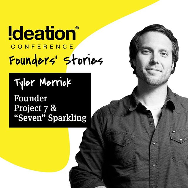 🎤 IDEATION CONFERENCE 2019 SPEAKER 🎤⠀ We're thrilled to have Tyler Merrick, Founder of @project7 & @7sparkling speak at #IdeationConf⠀ ⠀ ------⠀ ⠀ Come experience life-giving stories, connect and be inspired!⠀ FOUNDER'S STORIES⠀ 🗓Sept 11-13⠀ 📍Liberty Station – San Diego, CA⠀ 🔗Register @ ideationconference.com⠀ ⠀ #IdeationConference2019 #Founders #Conference #TheIdeation #SanDiego #LibertyStation