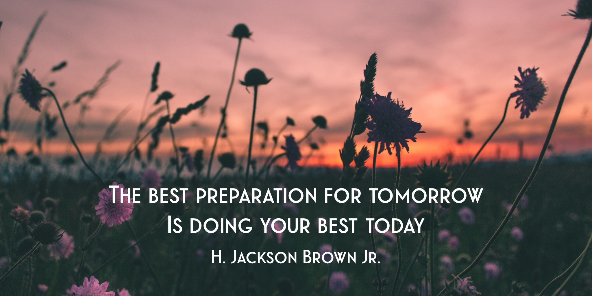 Preparation Quote - H Jackson Brown JR