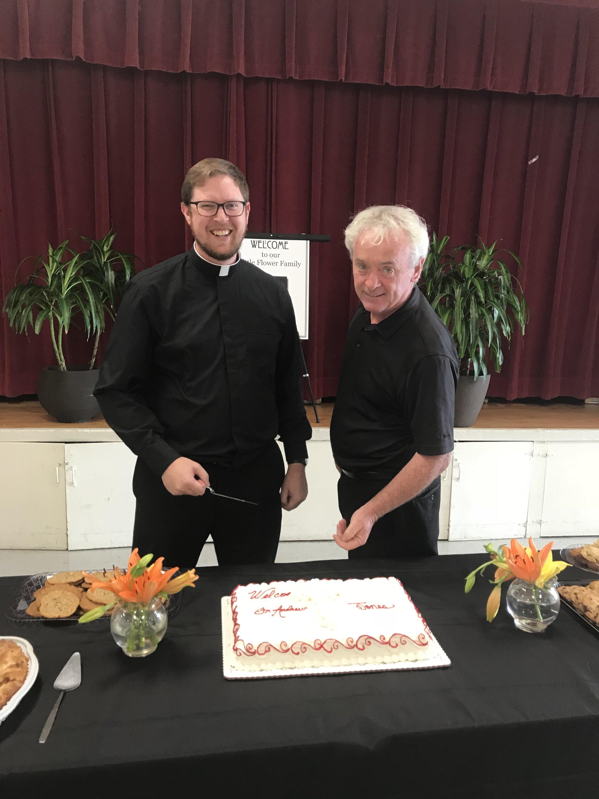 Welcome Fr. Andrew Jones