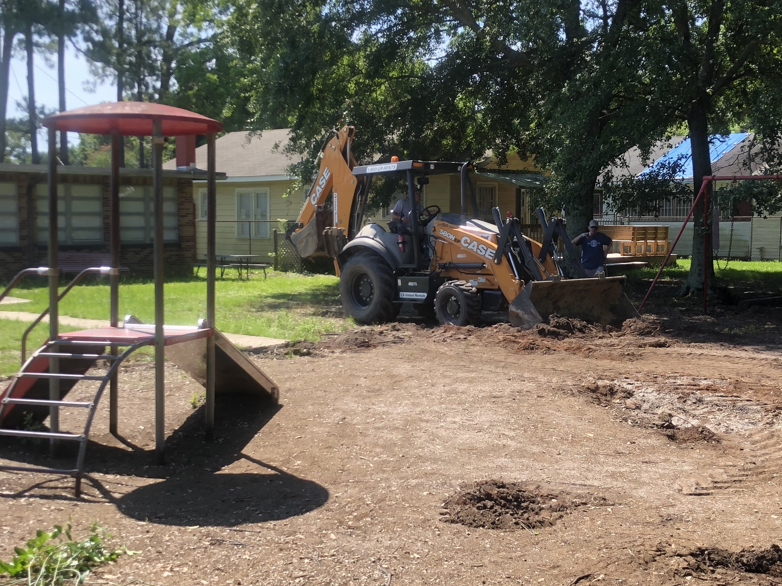 New Playground Construction Jun-19