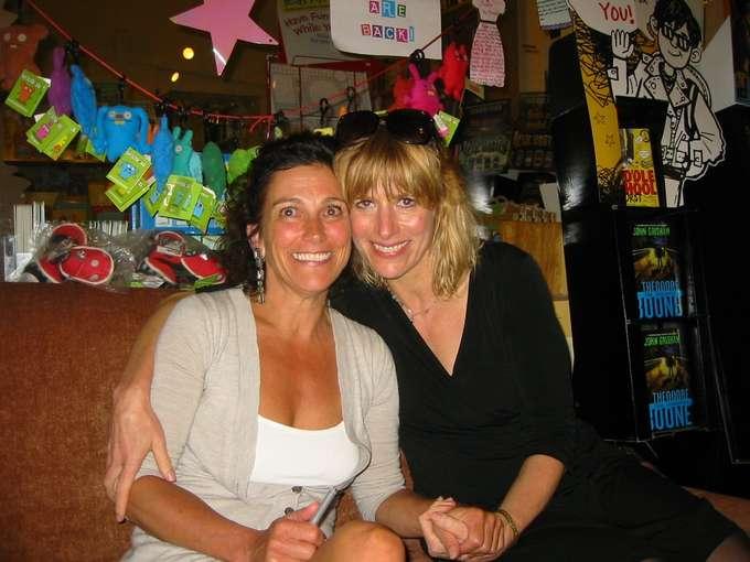 Carolyn Cooke and Edie Meidav