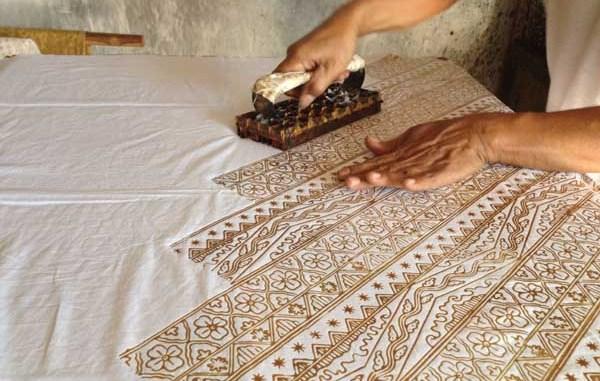 Indonesian Batik Cap