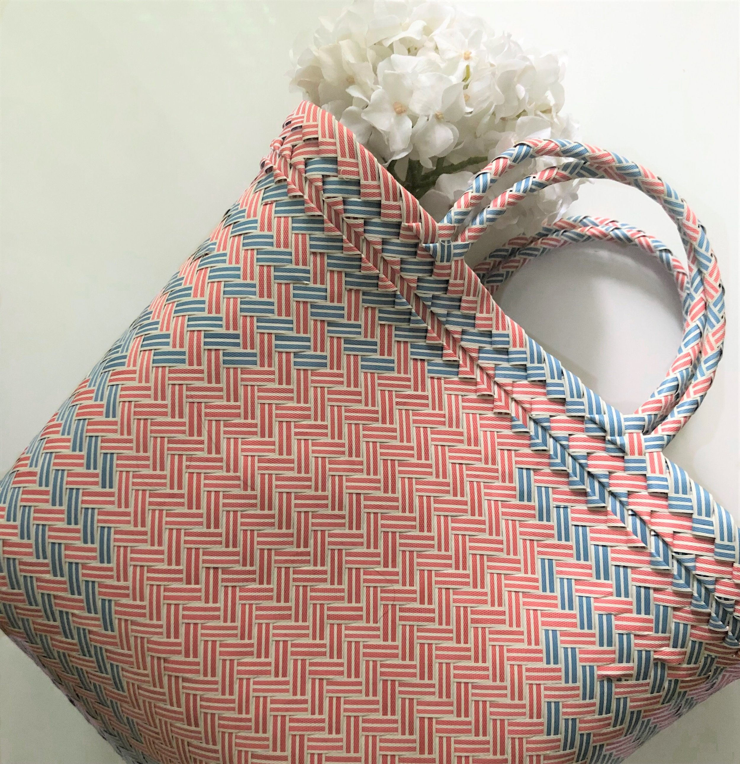 Colourful Woven Bag -