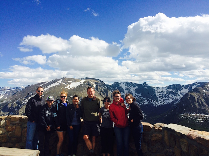 The Altruic Advisors team of accountants enjoying a day outside at Rocky Mountain National Park.
