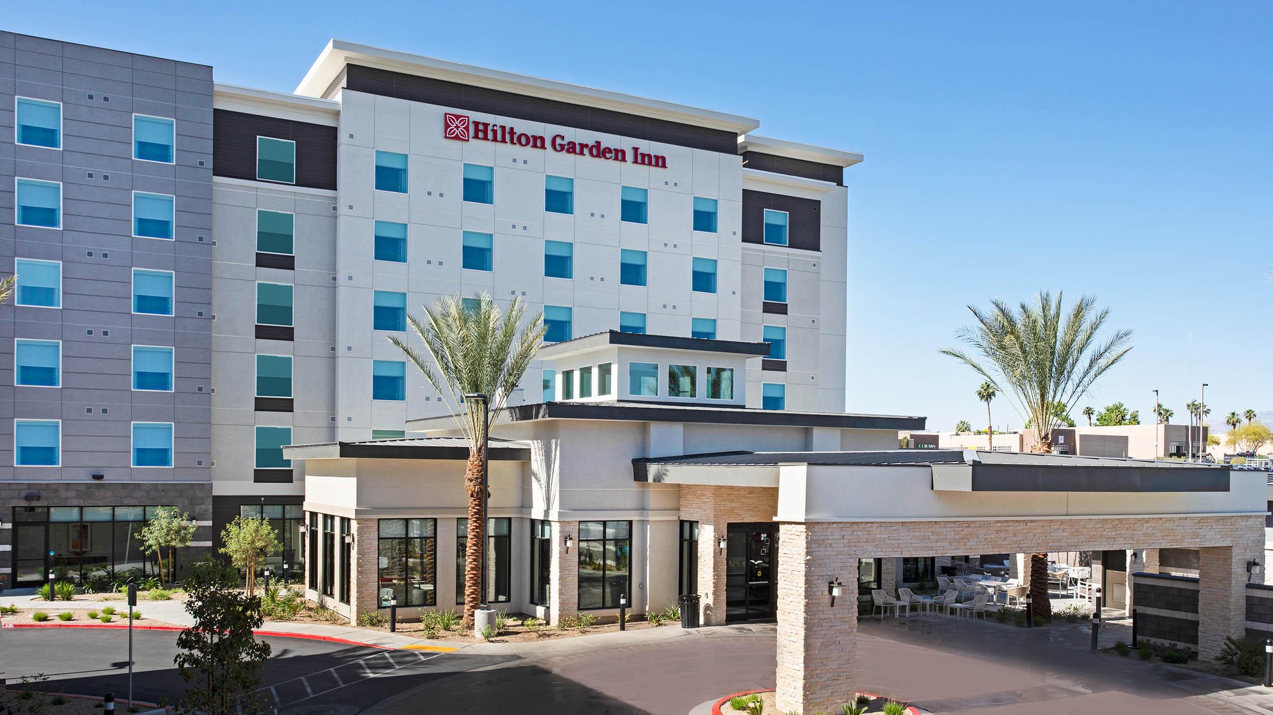 LASLGGI Hilton Garden Inn Las Vegas Exterior Day 2500.jpg