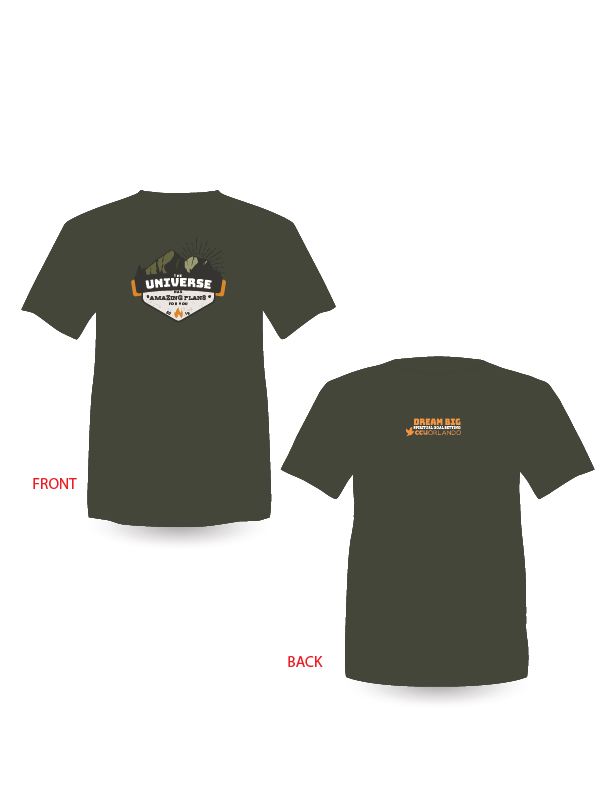 """Dream Big: Spiritual Goal Setting"" T-Shirt"