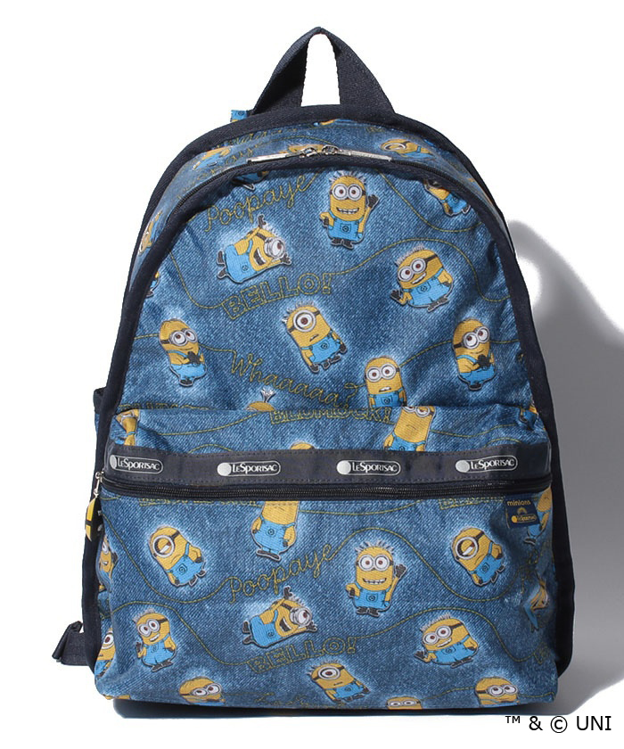 Minions Denim / Basic Backpack $142