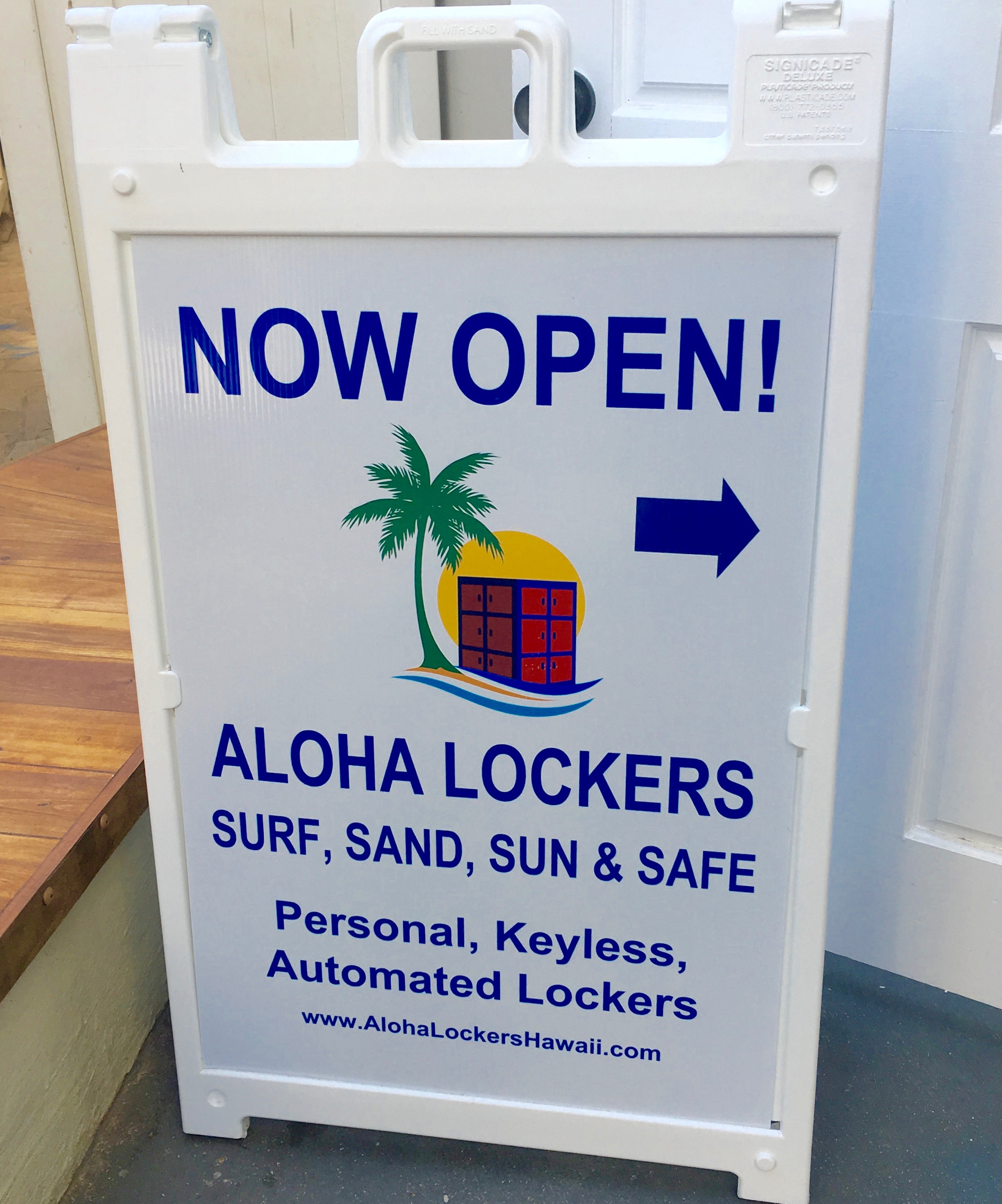 CW Aloha Lockers Now Open Sign 2.jpg