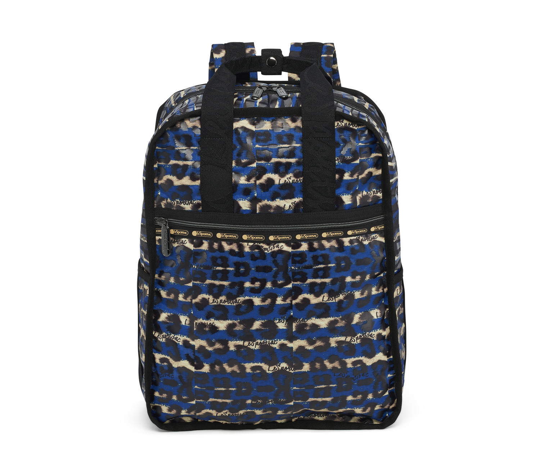 Wild Graffiti Blue Faith Backpack $201