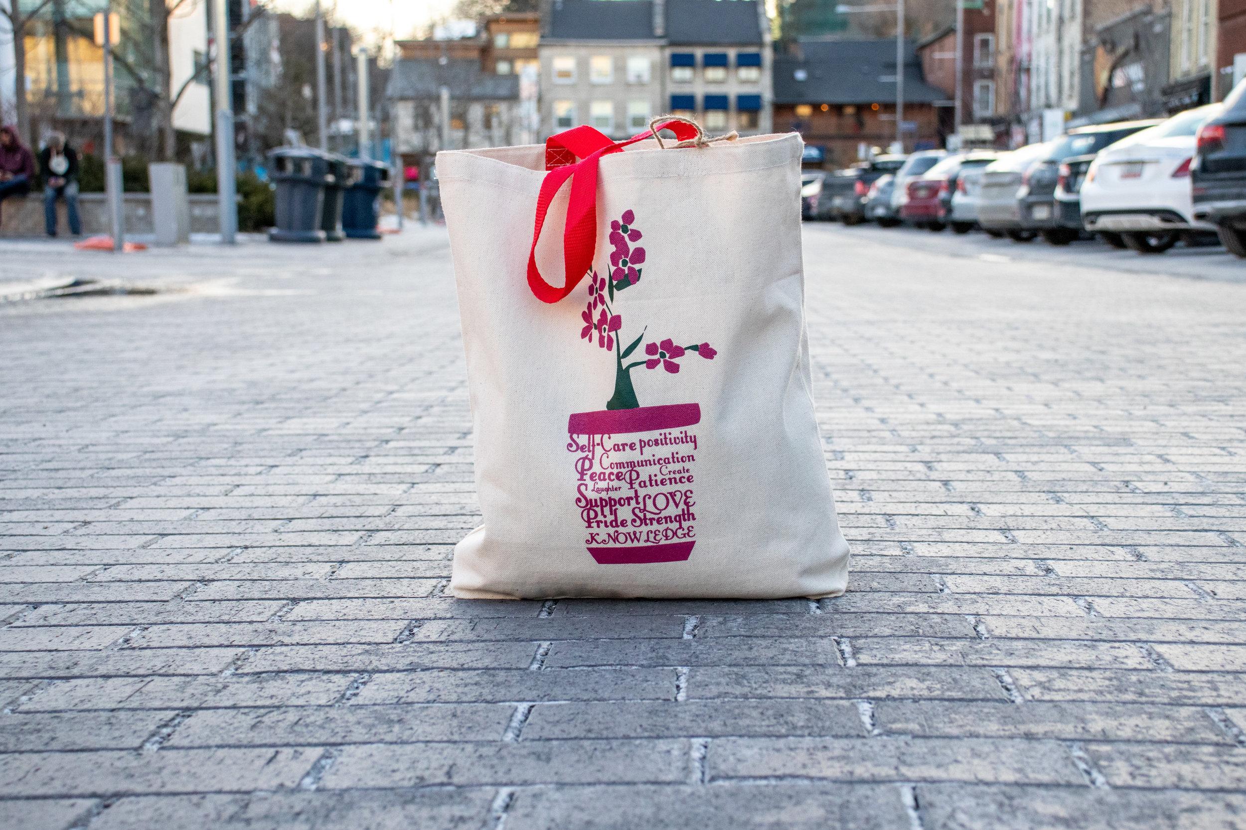 Community Company Jillian's Tote Bag (Front)