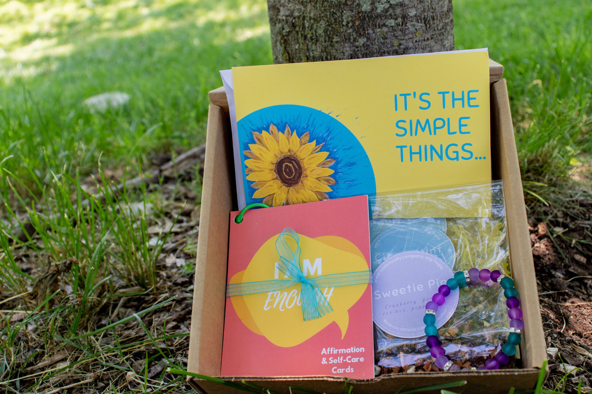 Purchase a Community Box to empower your community -