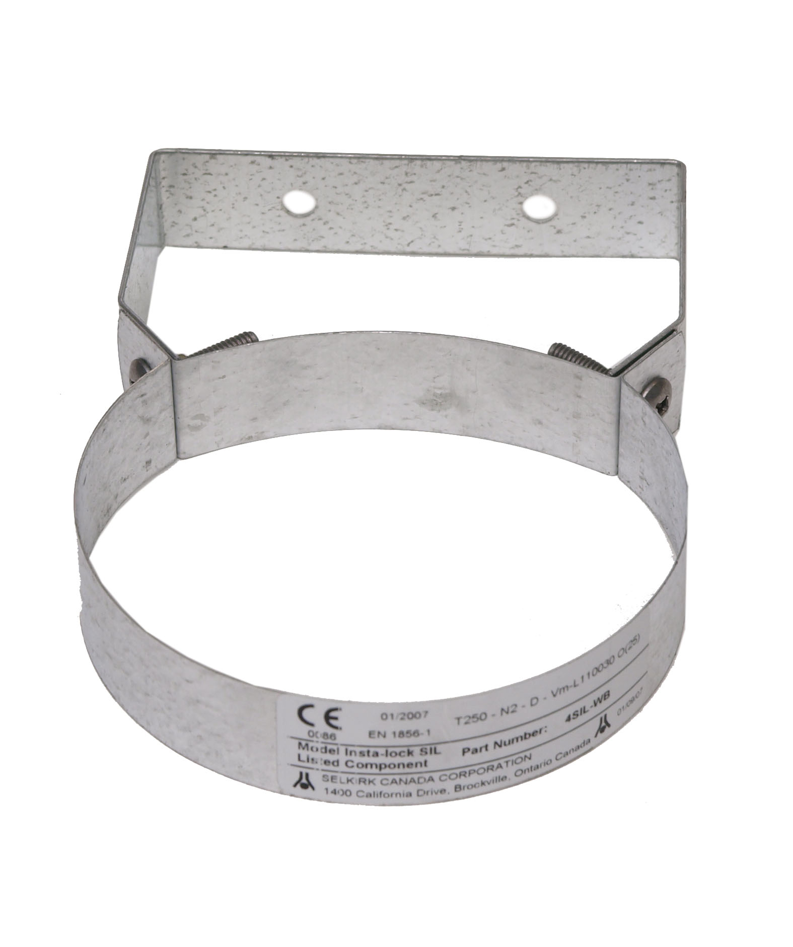 """4/""""//102mm to 6/""""//152mm Selkirk Insta-Lock IL Gas Vent Stand-Off Wall Bracket"""