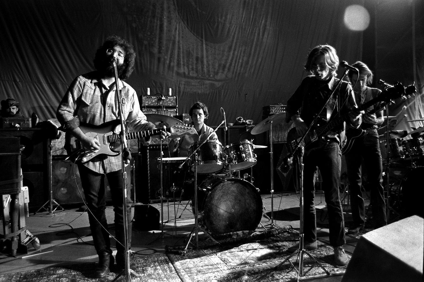 // Photo: Robert Altman | The Grateful Dead, San Francisco, CA, 1970