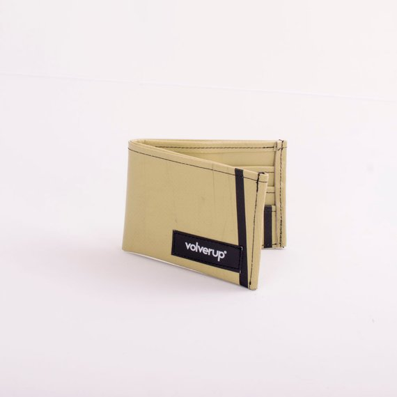 RECYCLED VOLVERUP WALLET £57 - This is a sick company from Spain. This wallet is just lush, and considering it's made from recycled truck tarp, I think this gift is rather swanky!They also do wicked backpacks, handbags and purses for all genders. Go check them out, really, I am slightly obsessed.