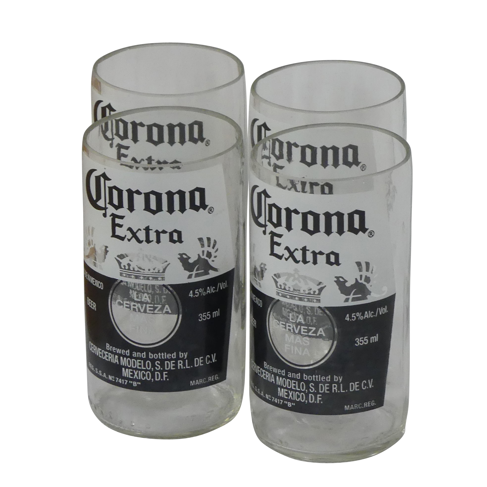 Upcycled corona glasses €24.90 - I am sure the drinks will be flowing throughout the Xmas season, so why not give this awesome set of glasses to your loved one.Made from used Corona bottles, this gift is both thoughtful and stylish. They also have other styles, but I love the logo on these. They are enough to style up any drink!