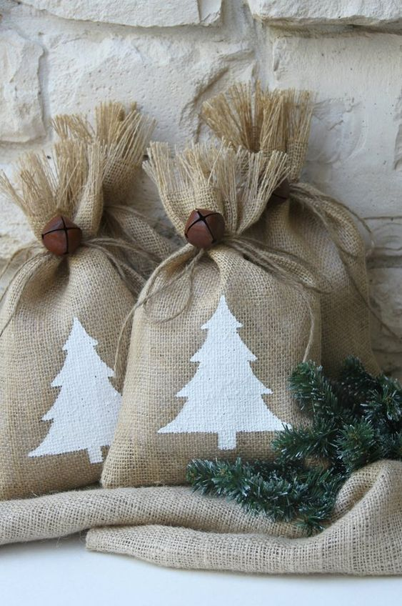 Why not invest in some super cute sacks like these, or better still make some at home!