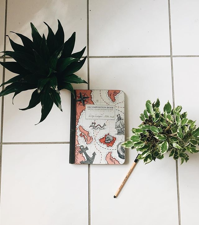 Compose and create 💫  Part of my routine is regular journaling. I discovered @decompositionbook in #brisbane last year, and I'm still in love!  Using 100% post-consumer-waste and natural soy ink, this #madinUSA stationary company is one of my faves!  Some swaps can be really easy, if you take the time to find something a little more #earthfriendly . . . . . #decompositionbook#recycledpaper#sustainableblogger#bulletjournalgermany#journalinspo#bulletjournalers#reduceyourwaste#recycledart#journalideas#stationaryaddict#stationarylover#morningpages#ecofriendlyliving#ecofriendlyproducts#flatlayinspo#flatlaybooks#consumerpower#sustainableshopping#sustainabledesign#reusereducerecycle#upcycledcraft#vegansofinsta#ecofriendlyproducts#nachhaltigleben#plastikfrei