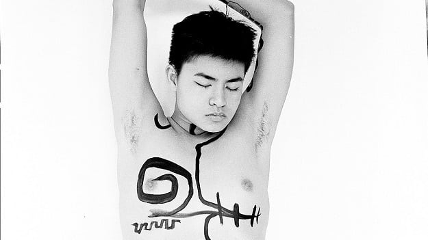Chella, the deaf, queer Jewish-Asian making headlines with his art