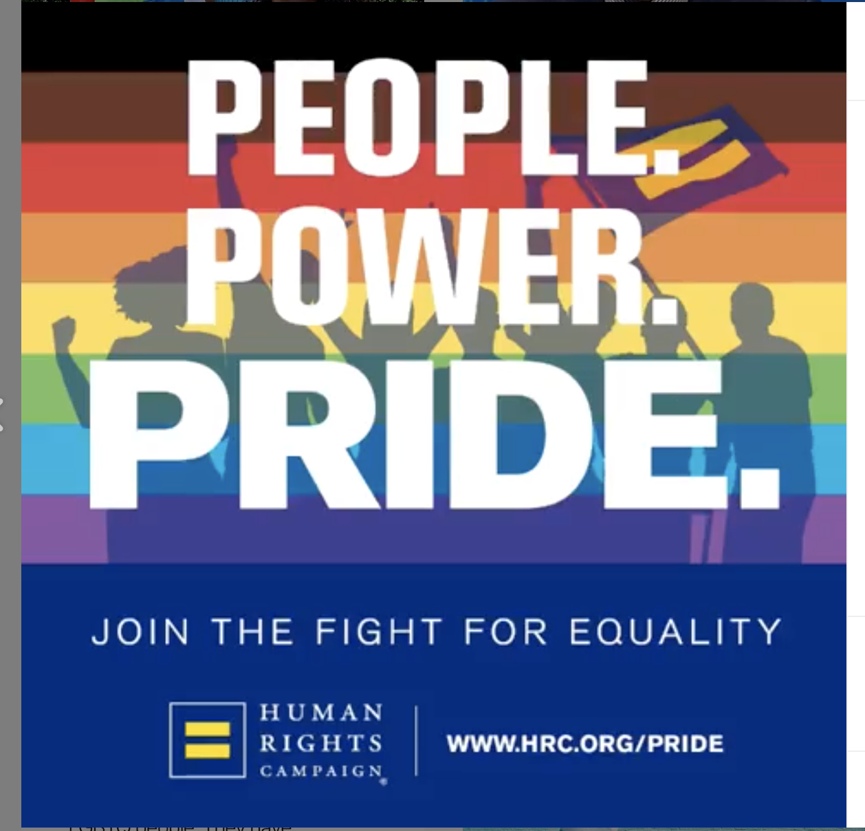 HUMAN RIGHTS CAMPAIGN - America's largest civil rights organisation fighting for the equality and visibility of the LGBTQ+ community