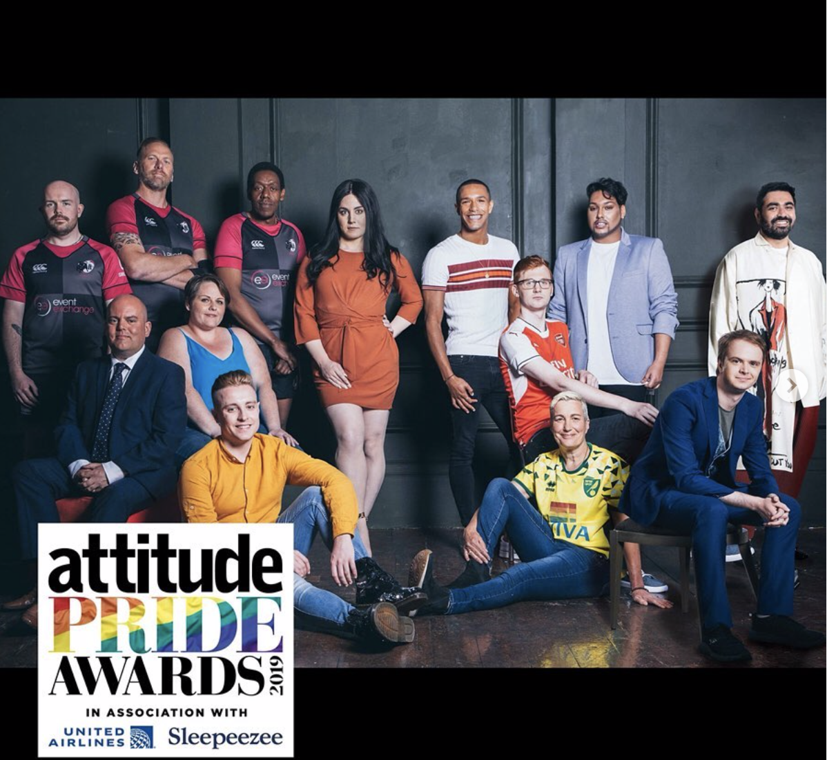 ATTITUDE MAGAZINE - This is the UK best selling LGBTQ lifestyle mag, and they currently sharing inspiring stories from important figures in the community.
