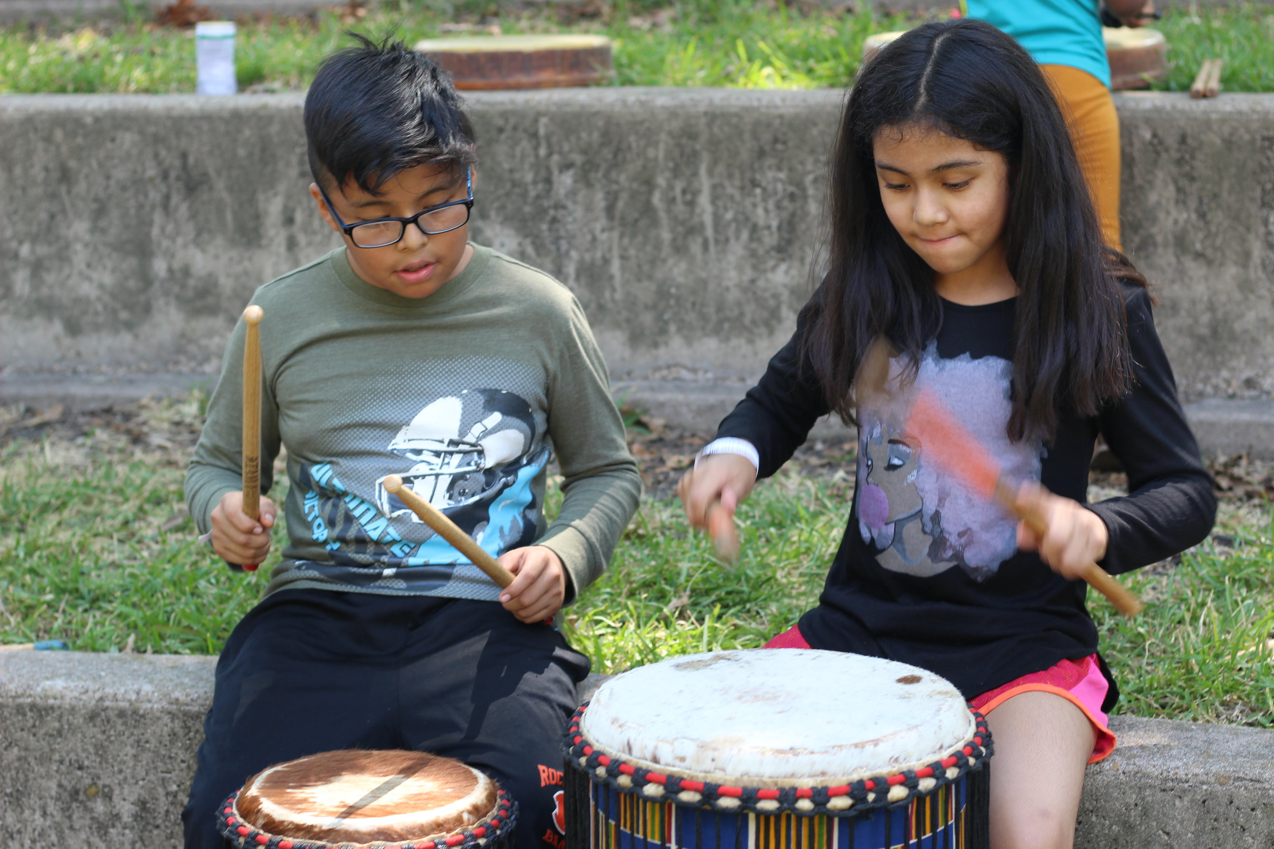 BROTHER AND SISTER DRUM.JPG