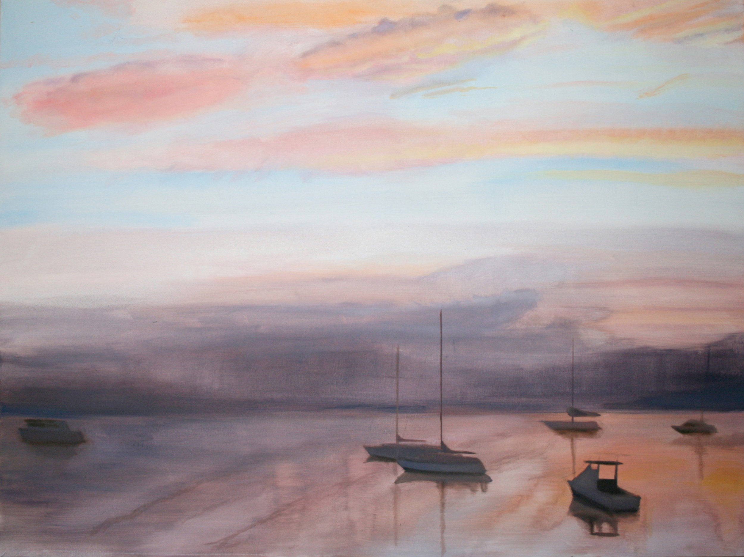 """Dusk on the Water"""