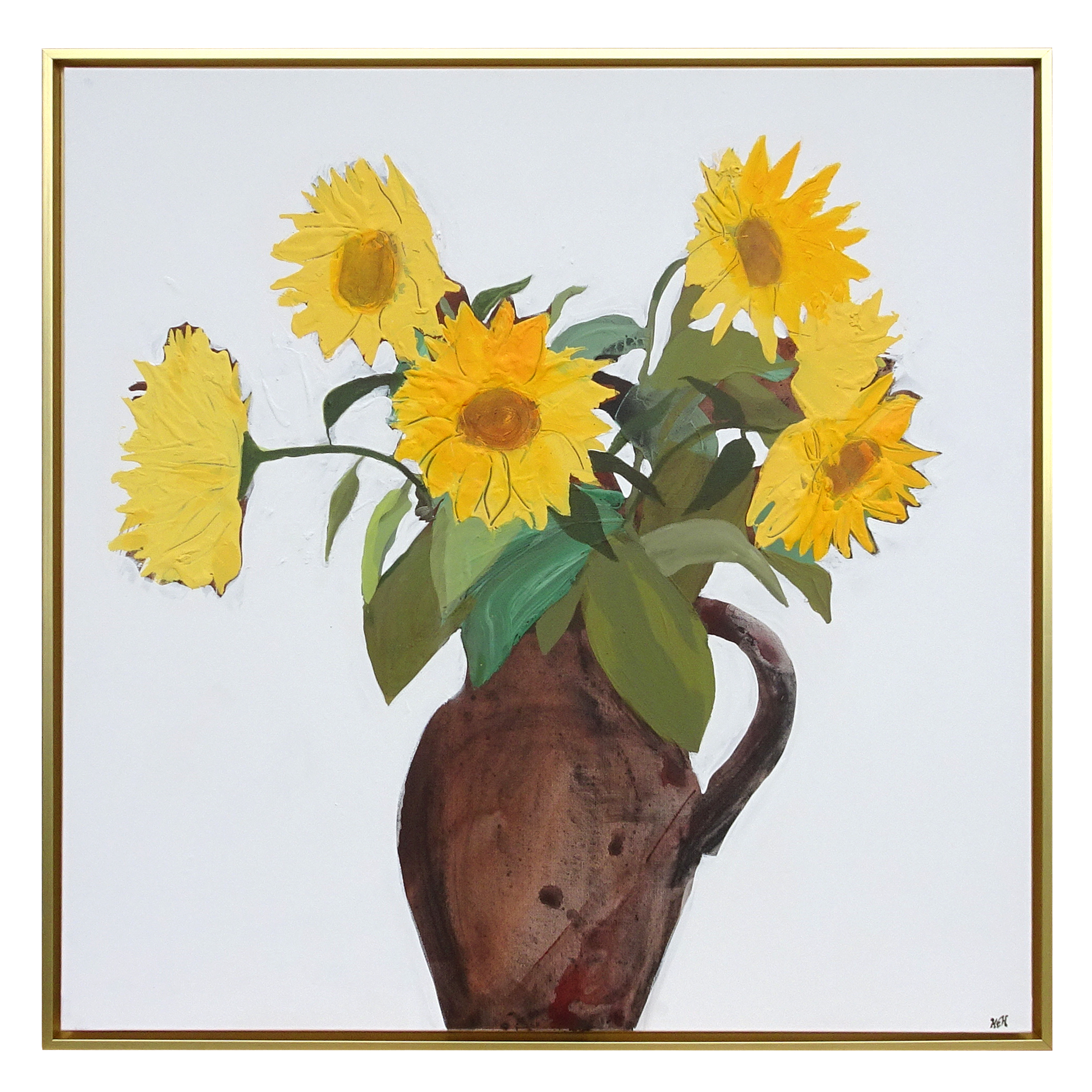 """Sunflowers in Jug"""