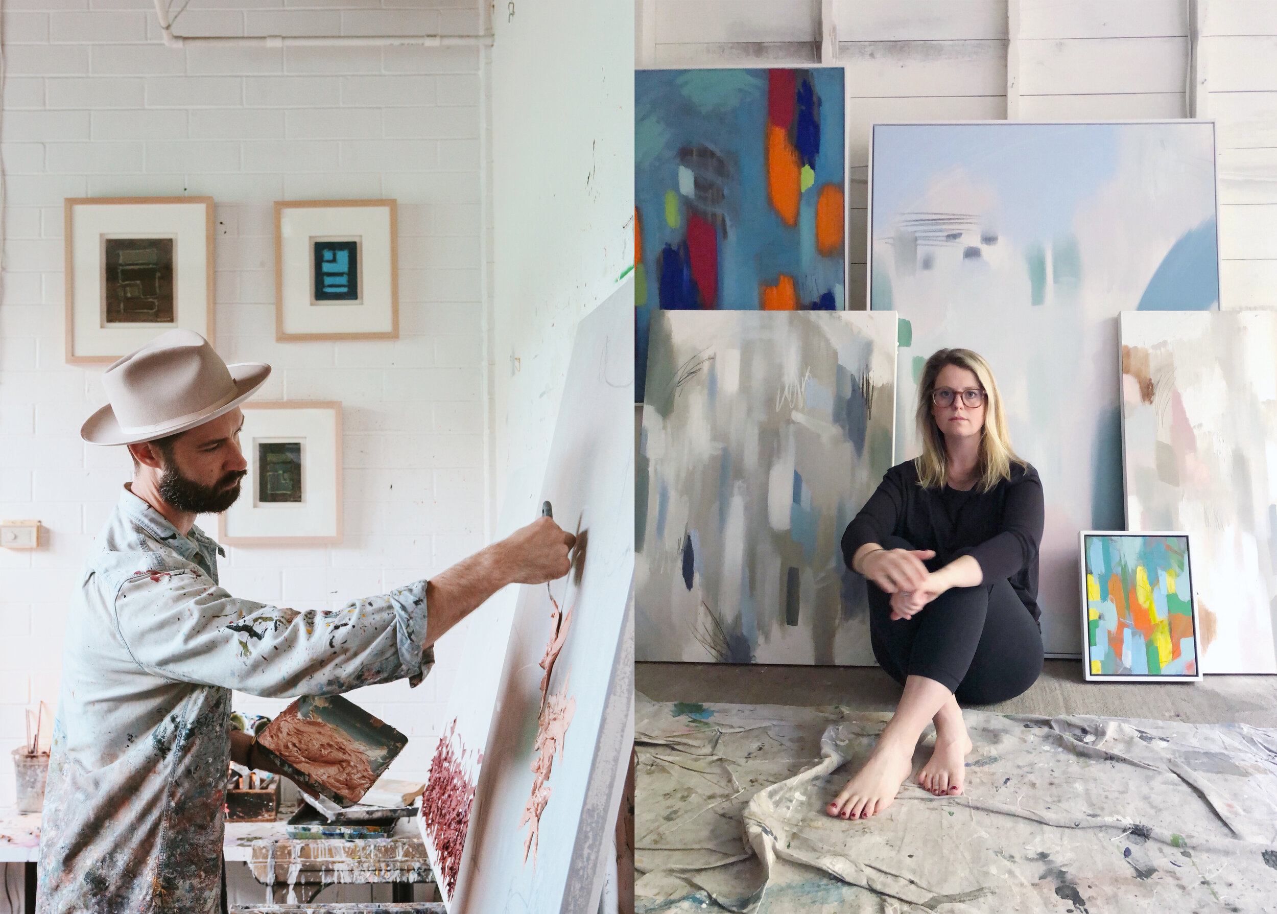 EAST Austin Studio Tour - Guinn + Hamilton Art ShowNovember 16–17 & 23–24, 2019, 12-6pmBig Medium's East Austin Studio Tour (EAST) is a free, annual, self‑guided art event where artists open their studios to the public. This year, Hamilton will be showing as a guest artist of Tyler Guinn at his studio. These two abstract expressionist artists have come together to create a visually complimentary show in a non-traditional warehouse setting. Both artists will be present to discuss their process and the inspiration behind their work.Opening ReceptionSat, Nov 16 | 4-6pm | 701 Tillery St, Unit B, Austin, TX 78702*Complimentary drinks provided by Waterloo Gin