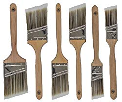 Quality brushes are worth it, cheap brushes often leave bristles stuck in the paint.