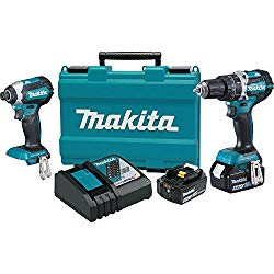 Professional grade drill and driver. Low profile driver is great for working in small spaces.