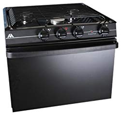 3 burners and a higher quality oven.