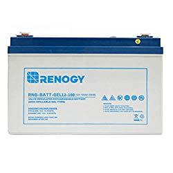 100 AH AGM, Renogy Brand.