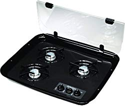 Simple, cheap cook top with multiple burner options.