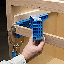 This drawer slid jig is helpful but not required.