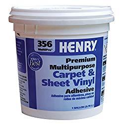 Sheet vinyl adhesive, 1 gallon