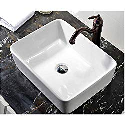 Sit on top sinks maximize under the counter storage space